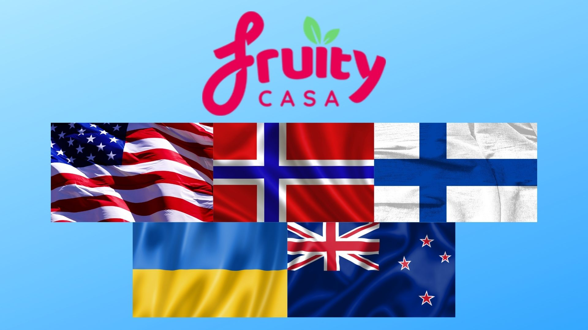 Fruity Casa Casino Countries Supported